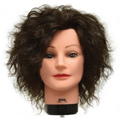 Erica Remy Curly Hair Manikin Head