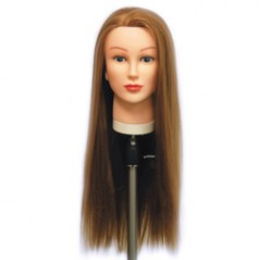 Lexi Synthetic Hair Cutting Manikin Head