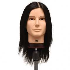 Jake Synthetic Hair Cutting Manikin Head