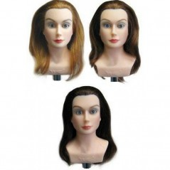 Minikins Miniature Hair Color Training Manikin Heads