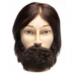 Diane Aiden with Textured Beard Manikin Head