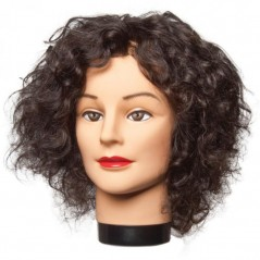 Frieda Curly Hair Mannequin Head