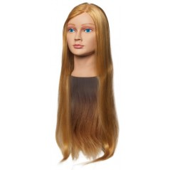 Sara 100% Synthetic Long Hair Mannequin Head
