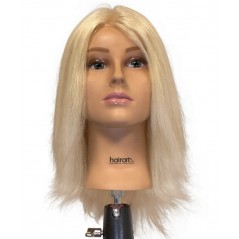 "Hairart Olivia 15"" European Hair Mannequin Head - 4723"