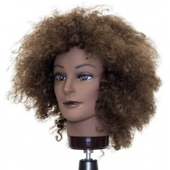 Hairart Trisha Curly Hair Mannequin Head