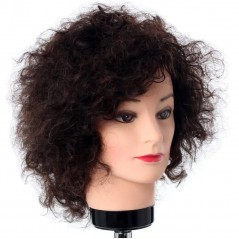Hairart Tanya Curly Hair Mannequin Head