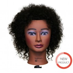 Hairart Aliyah Textured Curly Hair Mannequin Head