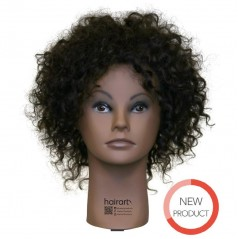 Hairart Shanice Ethnic Textured Curly Hair Mannequin Head